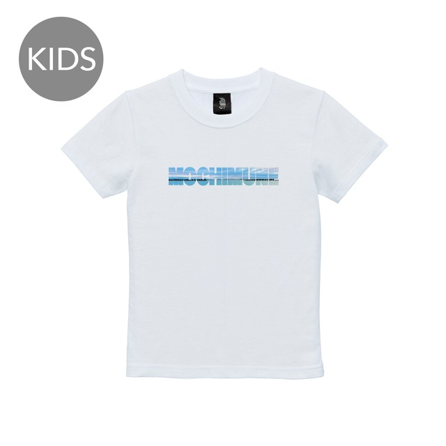 photologo beach 半袖 白 KIDS