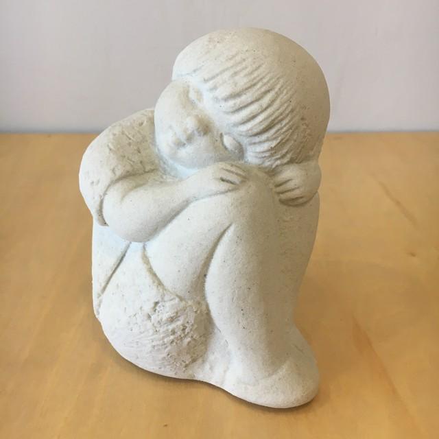 """ベルギー  """"Marbell Stone Art"""" Sand stone sculpture オブジェ"""
