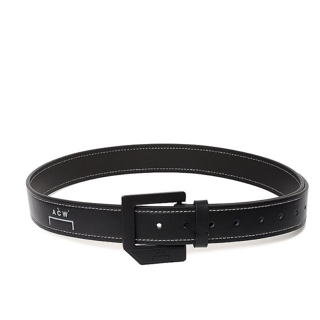 A-COLD-WALL* / LEATHER STITCH BELT
