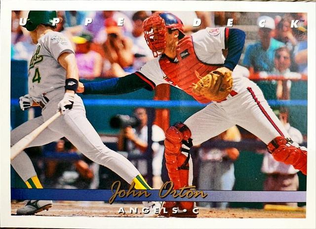 MLBカード 93UPPERDECK John Orton #317 ANGELS