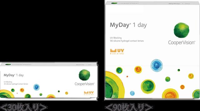 クーパー マイデイ【税込】8040円(1日使い捨て)90枚パック