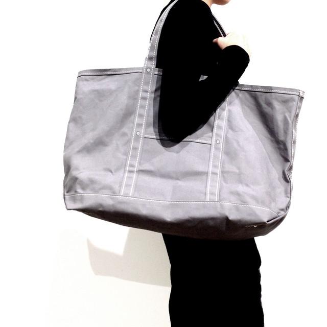 パラフィン加工10号帆布ラージトートバッグ