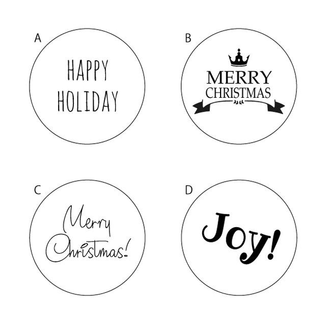 スモールボール用クリスマスメッセージ