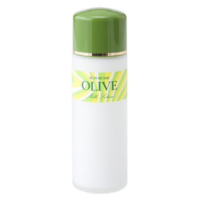 鈴虫オリーブ化粧品 オリーブミルクローション120ml