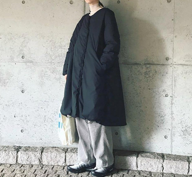 F/CE × NANGA / LONG DOWN COAT for WOMEN'S Aライン ダウン コート