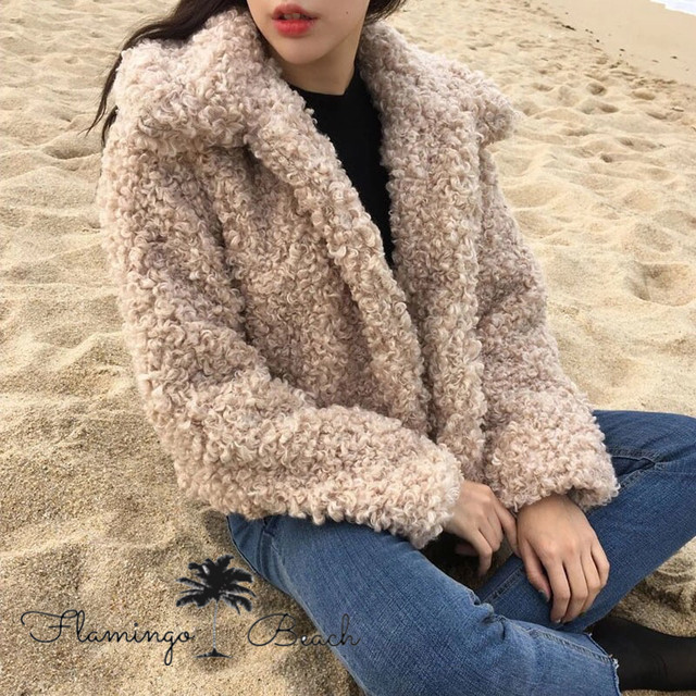 【FlamingoBeach】poodle coat