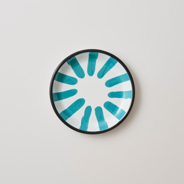 KAPKA - A Little Color - Dessert plate -  Turquoise Green