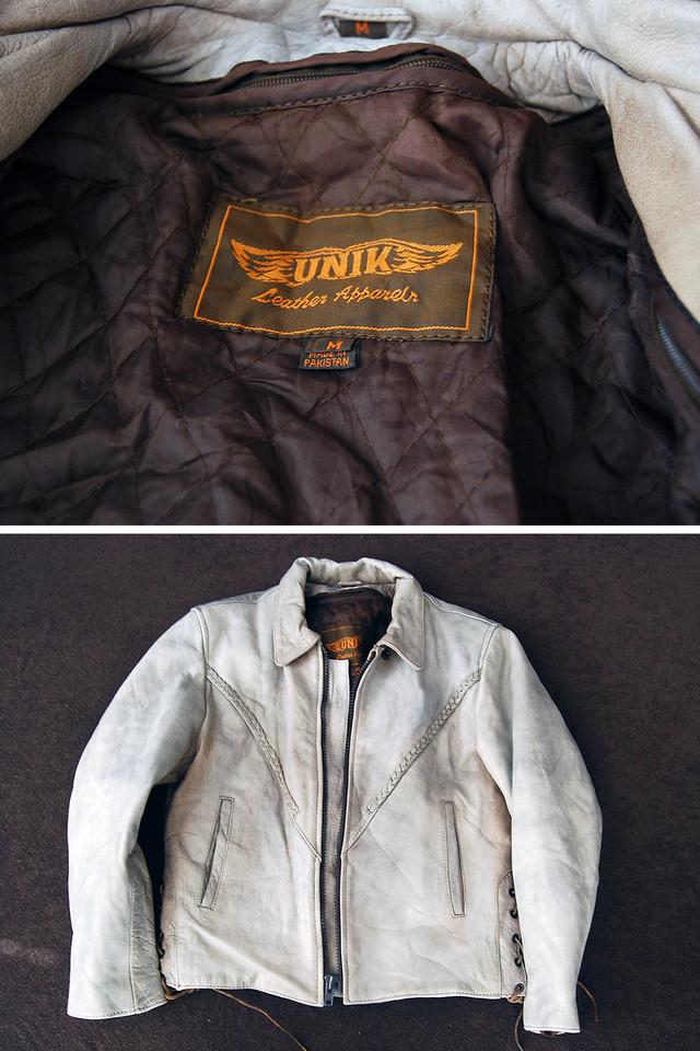 70s UNIK ウエスタン シングルライダースジャケット