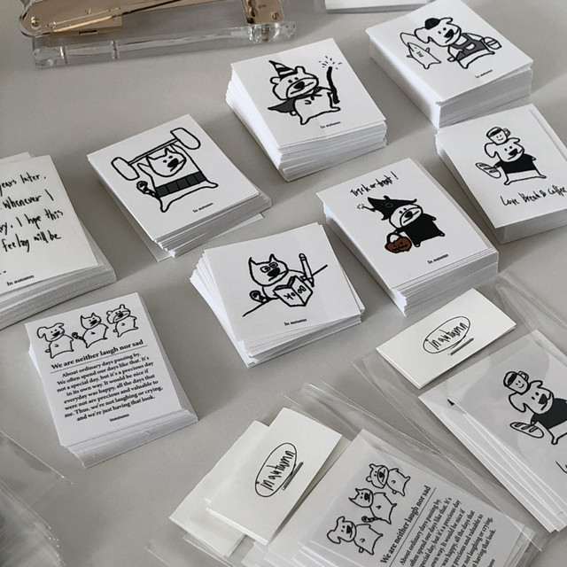 [in autumn] Sticker pack(10枚)