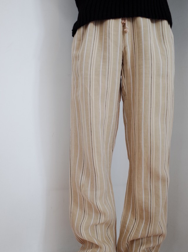 used【Dries van Noten】stripe pants