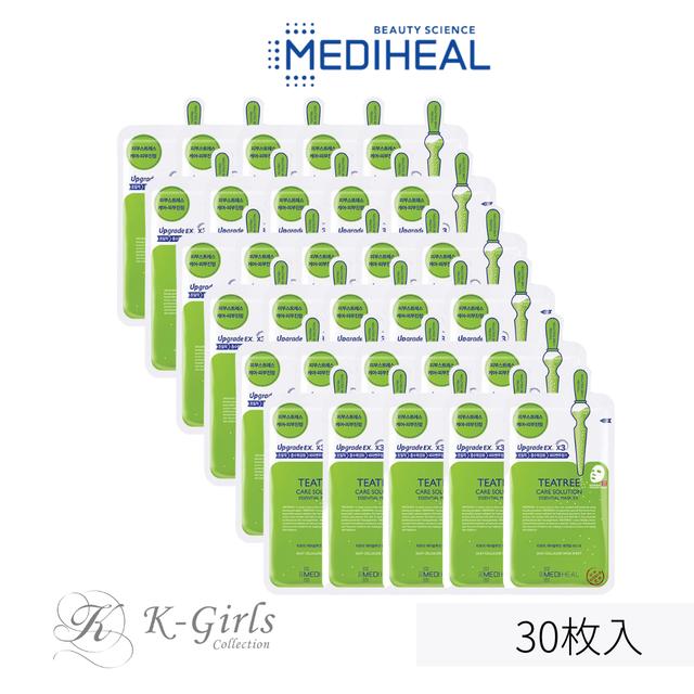 【MEDIHEAL】メディヒール ティーツリーケアソリューション エッセンシャルマスク EX.30枚入
