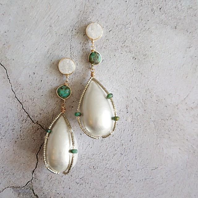 Cotton Pearl Ear Jewelry