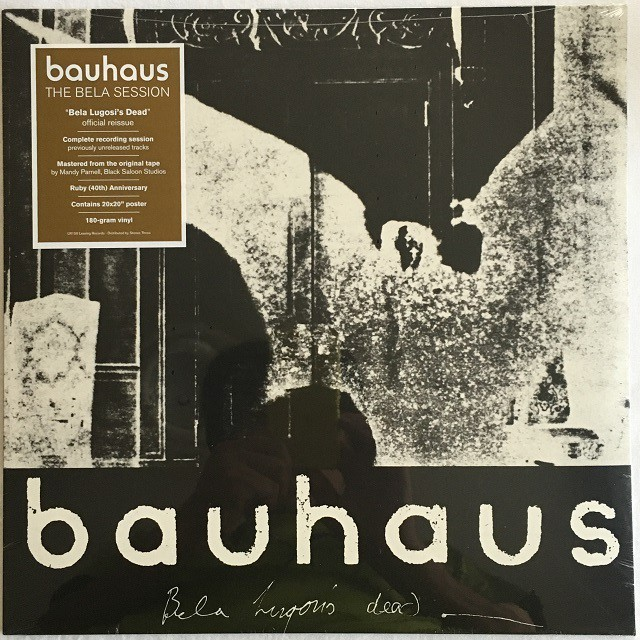 【新品・12 inch・米盤】Bauhaus / THE BELA SESSION