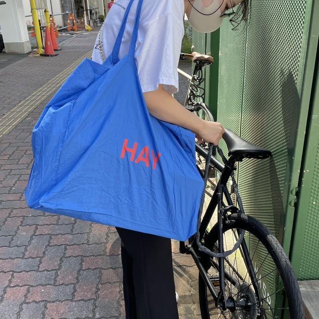 【HAY ヘイ】BLUE TOTE BAG ブルートートバッグ L 【10月末入荷分】
