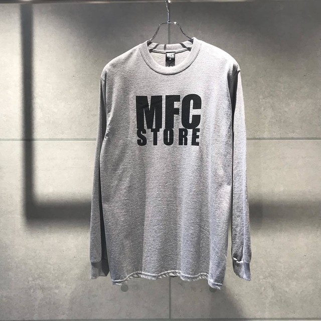 MFC STORE LOGO L/S TEE / GRAY