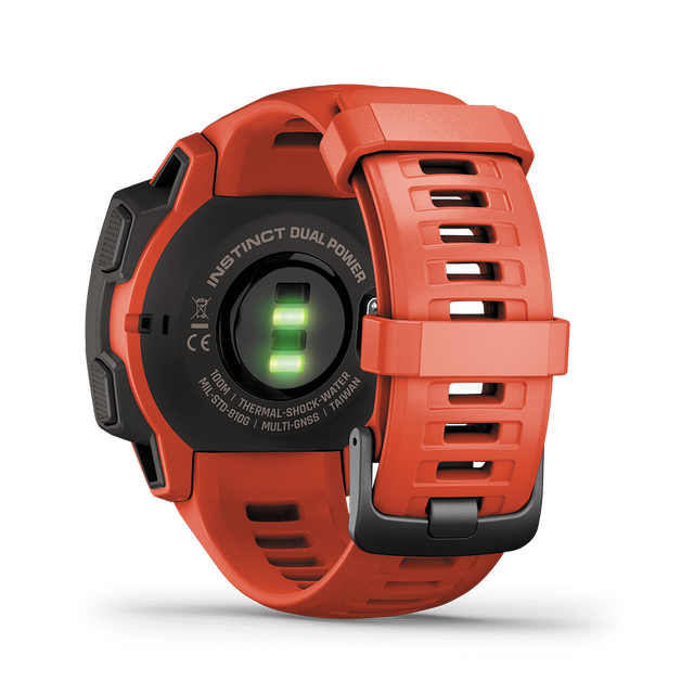 Instinct Dual Power Flame Red