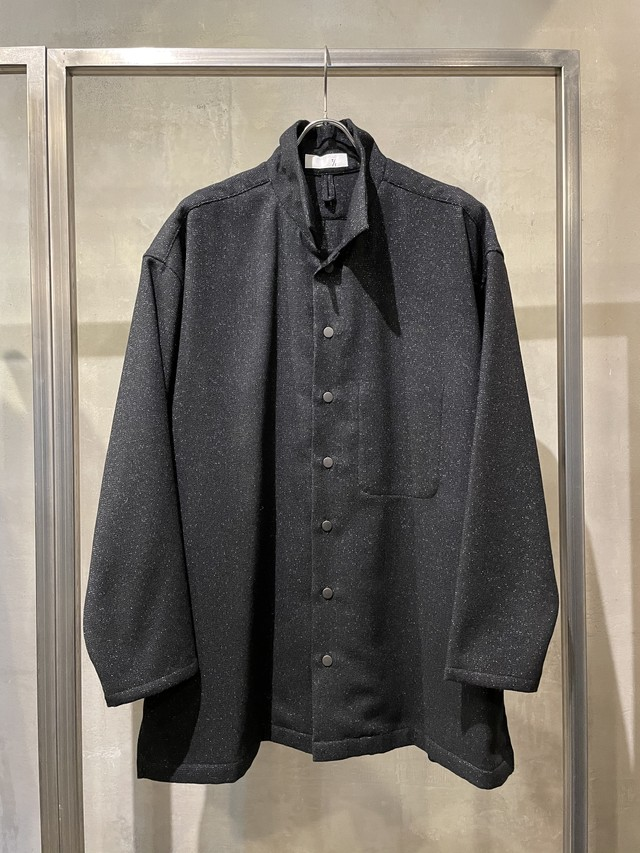 T/f Lv5 tweed loose fit coverall - combined black