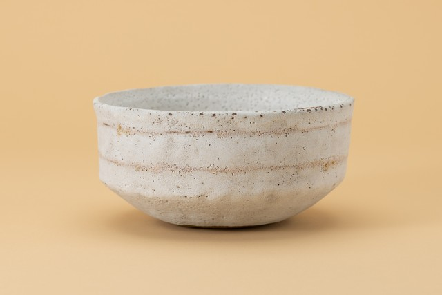 Alana Wilson Cycladic Banded Bowl(rose sgrafitto)