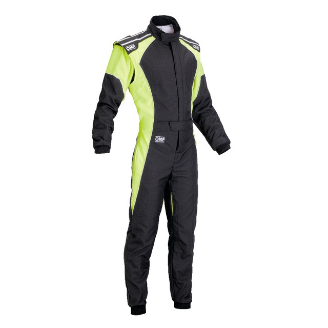 KK01723LC275  KS-3 Suit Fluo for children (Black/fluorescent light blue)
