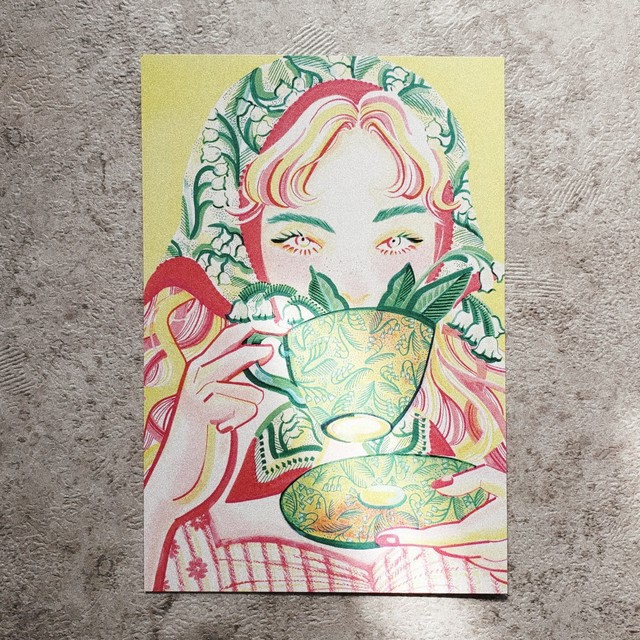 POST CARD 【Lace 2】