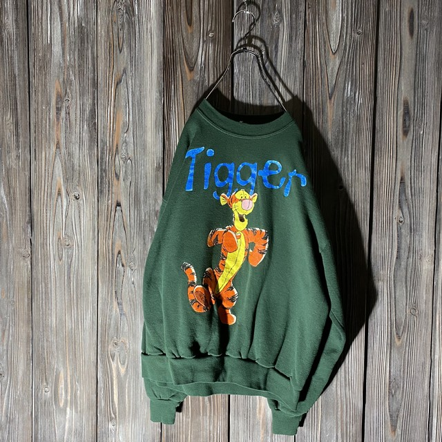 [Disney]Tigger big print sweat
