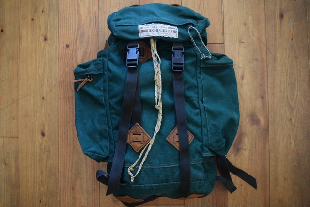 USED 70s WILDERNESS EXPERIENCE バックパック グリーン ビンテージ