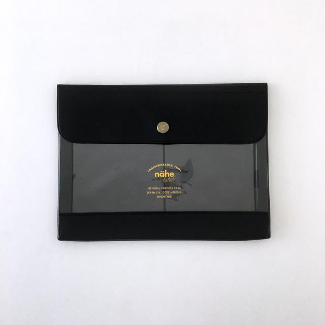 nähe General Purpose Case A6|ビニールケース (黒)A6