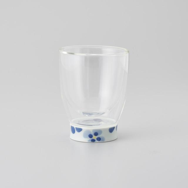 【青花】ダブルオールグラス  (夢見る異人)
