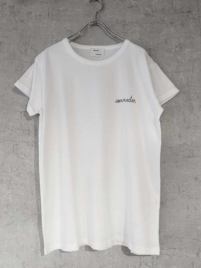 MAISON LABICHE×Connecter Tokyo Embroidery  tee