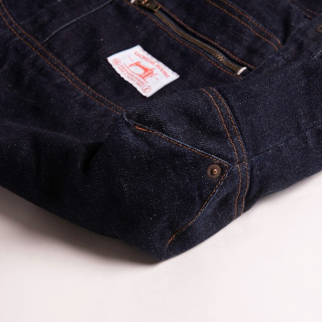 SELVEDGE DENIM SMALL TOTE BAG OW【セルヴィッジ デニム スモール トートバッグ OW】