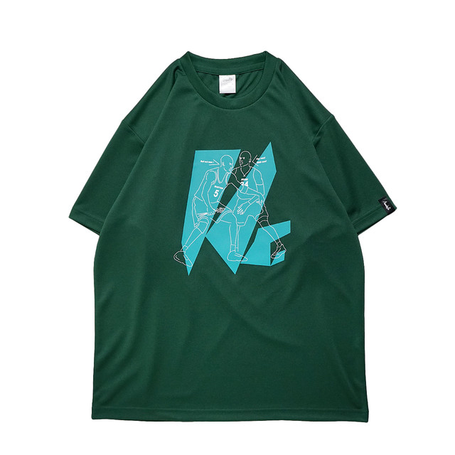 Boston stubborn S/S PL <A.Green×White×B.Green> - メイン画像