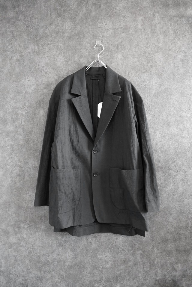 【20%off】VOAAOV cottonpoly tailored jacket Black