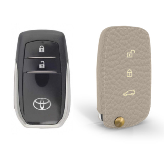 Toyota 専用 TypeC-1 Car Key Case Shrink Leather Case