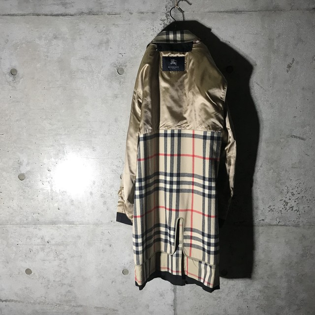 [Burberry]vintage black long coat