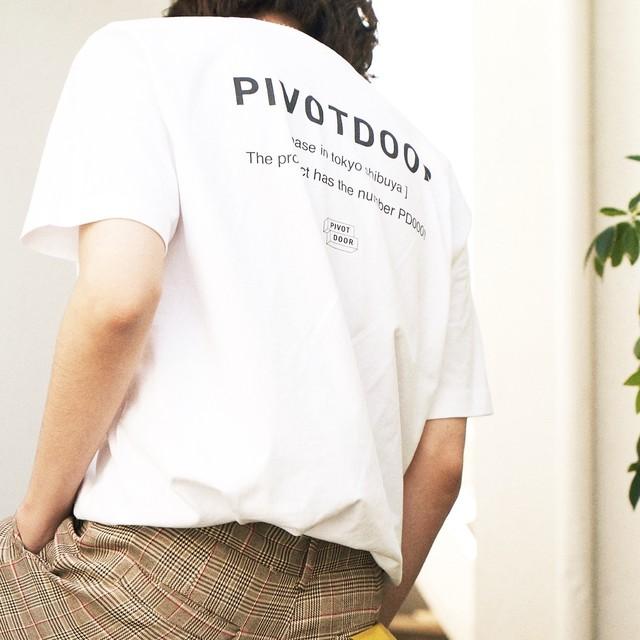 PIVOTDOOR short sleeve tee PD1482