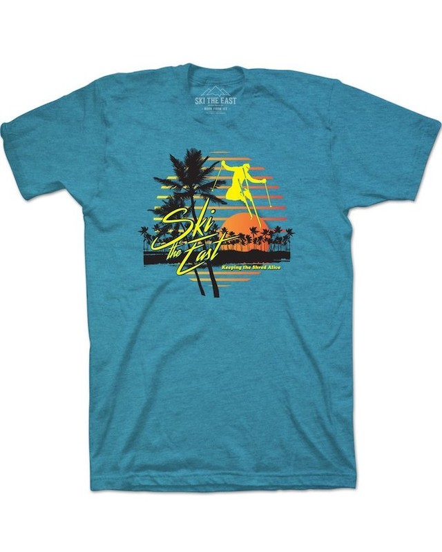 SKI THE EAST - Vacation Tee(ブルー)