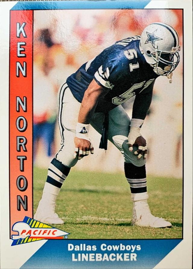 NFLカード 91PACIFIC KEN NORTON #103 COWBOYS
