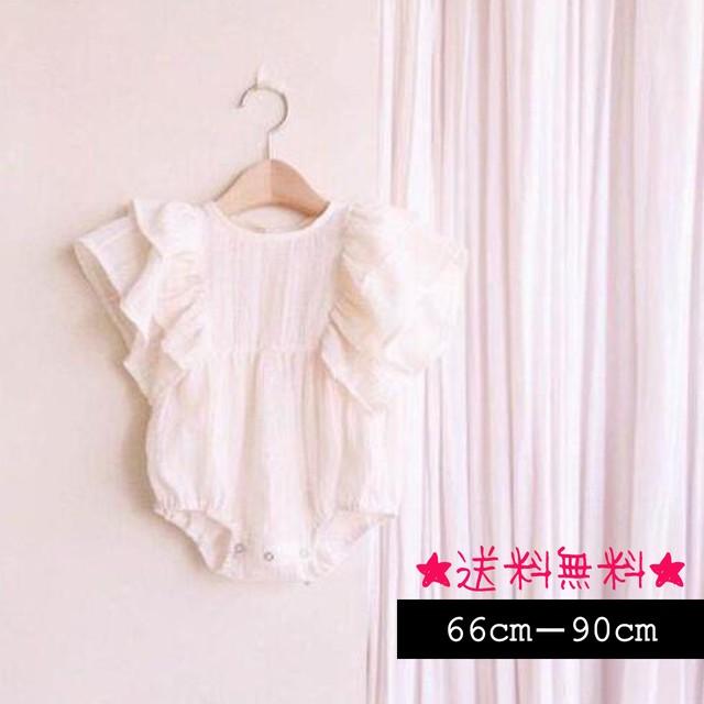 【66cm-90cm】ベビー ロンパース  (379)