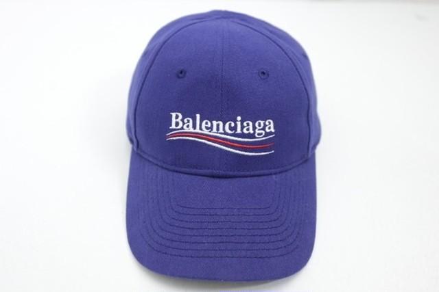 BALENCIAGA CAMPAIGN LOGO BASEBALL CAP BLUE LARGE 58 90JE6080