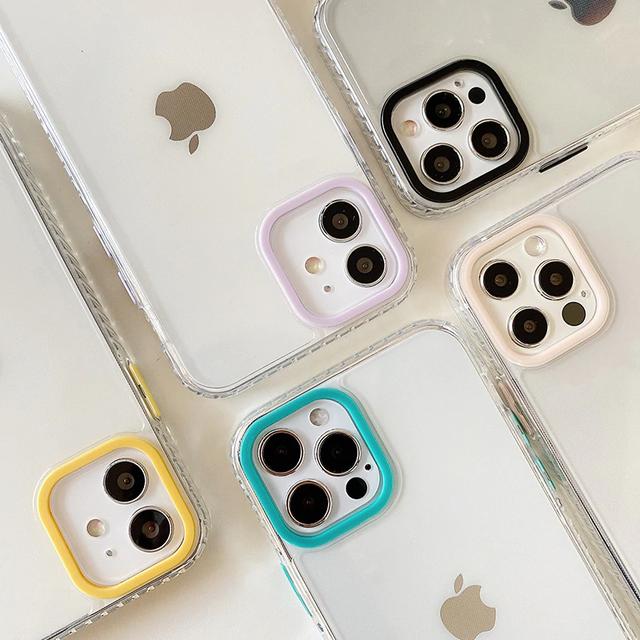 Simple transparent iphone case