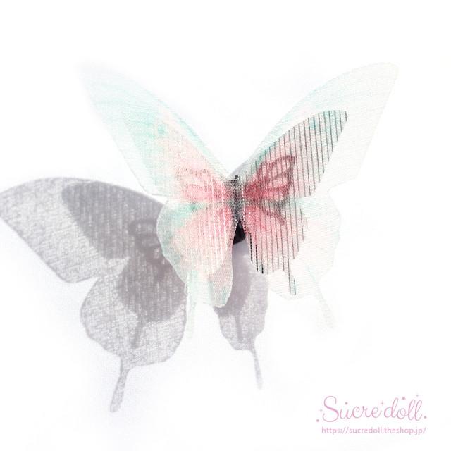 [妖華] 胡蝶の夢 ヘアクリップ