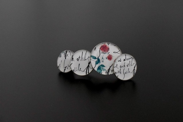 ba03 flower/calligraphy_barrette
