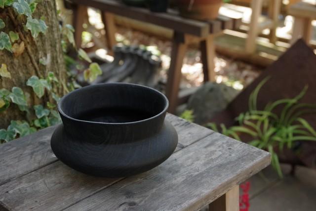 栗器(黒染)【長谷川 利雄】