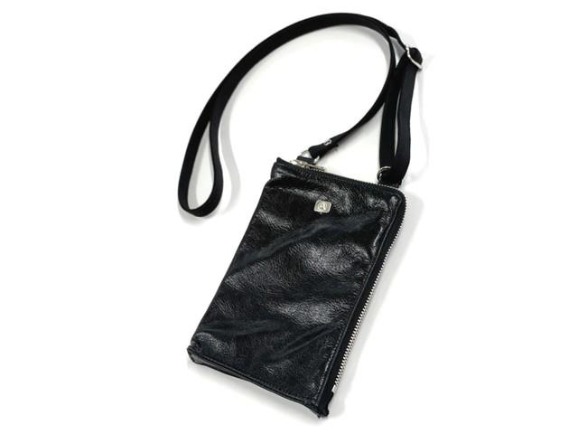 レザースマートバッグ[BROOKLYN/ブルックリン]ディープブラック