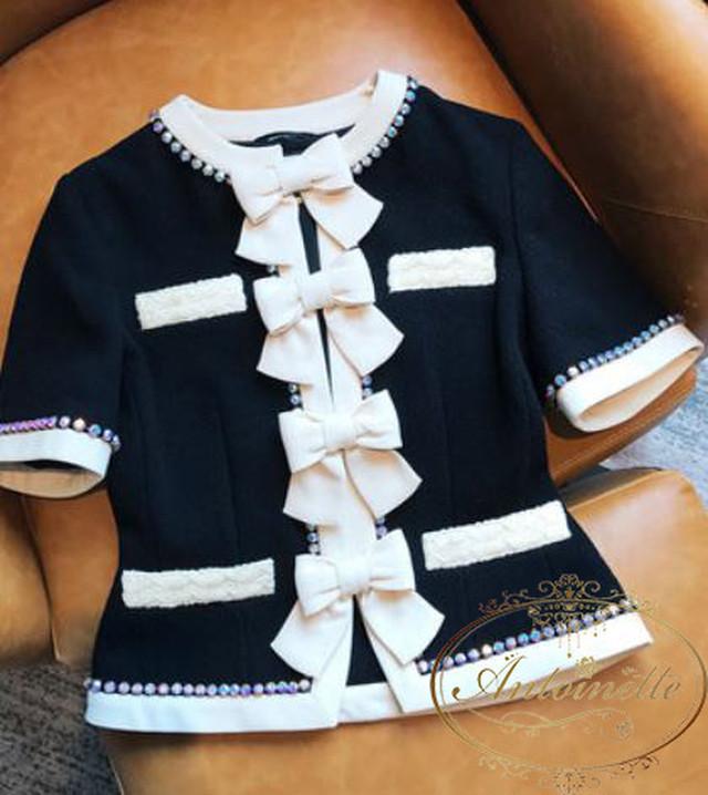 レディース セットアップ 謝恩会 入学式 ツイード ワンピース ドレス 長袖 ピンク マリアケント 風 可愛い 卒業式 大人 上品 清楚