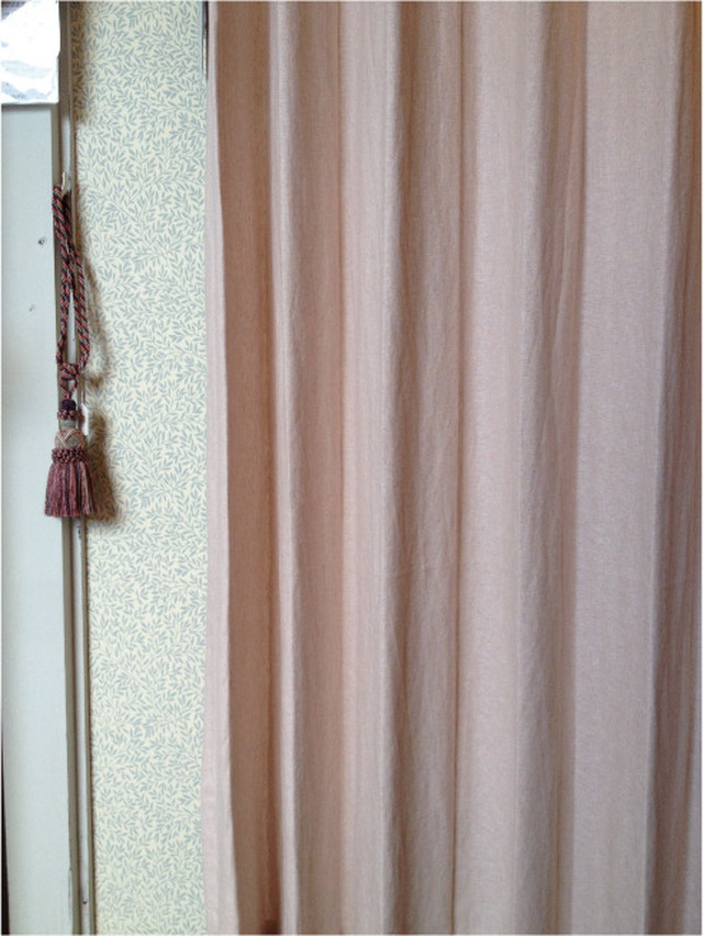 天然素材 カーテン  Spring スプリング401401 PI