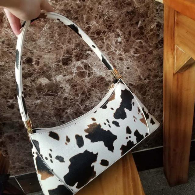 Cow pattern handle bag LD0472