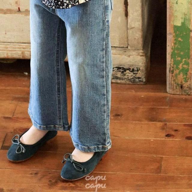 «先行予約割引» flo bongbong pants 2colors ボンボンデニムパンツ