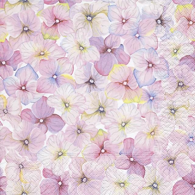 【Paper+Design】バラ売り2枚 ランチサイズ ペーパーナプキン SMALL BLOSSOMS ピンク