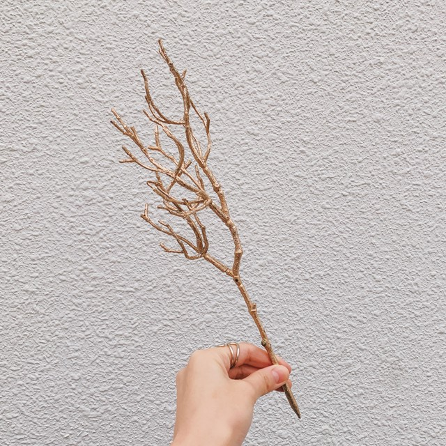mini green/金の枝物